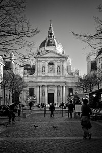 La Sorbonne University in Paris, one of the most prestigious universities in France.