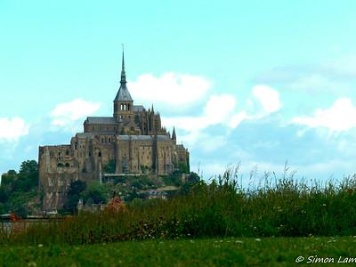 Mont St Michel, Normandy, France