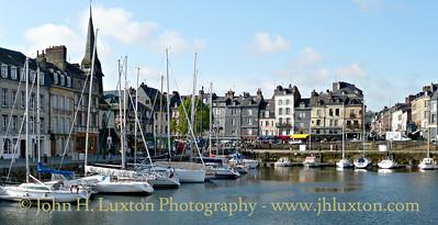 Honfleur - Normandy - France - April 17, 2009.