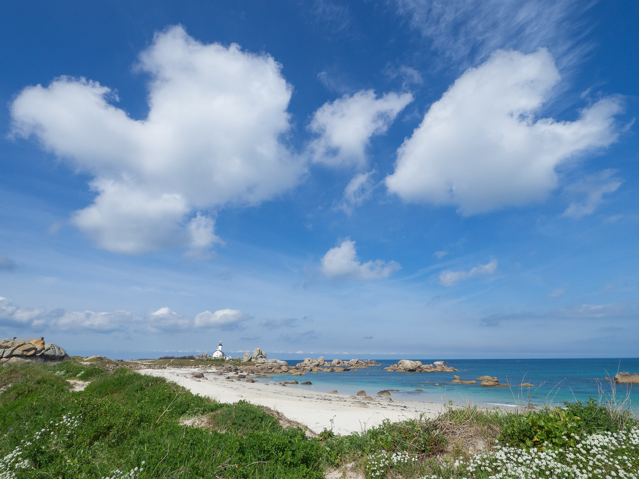 Lighthouse of Brignogan Plages