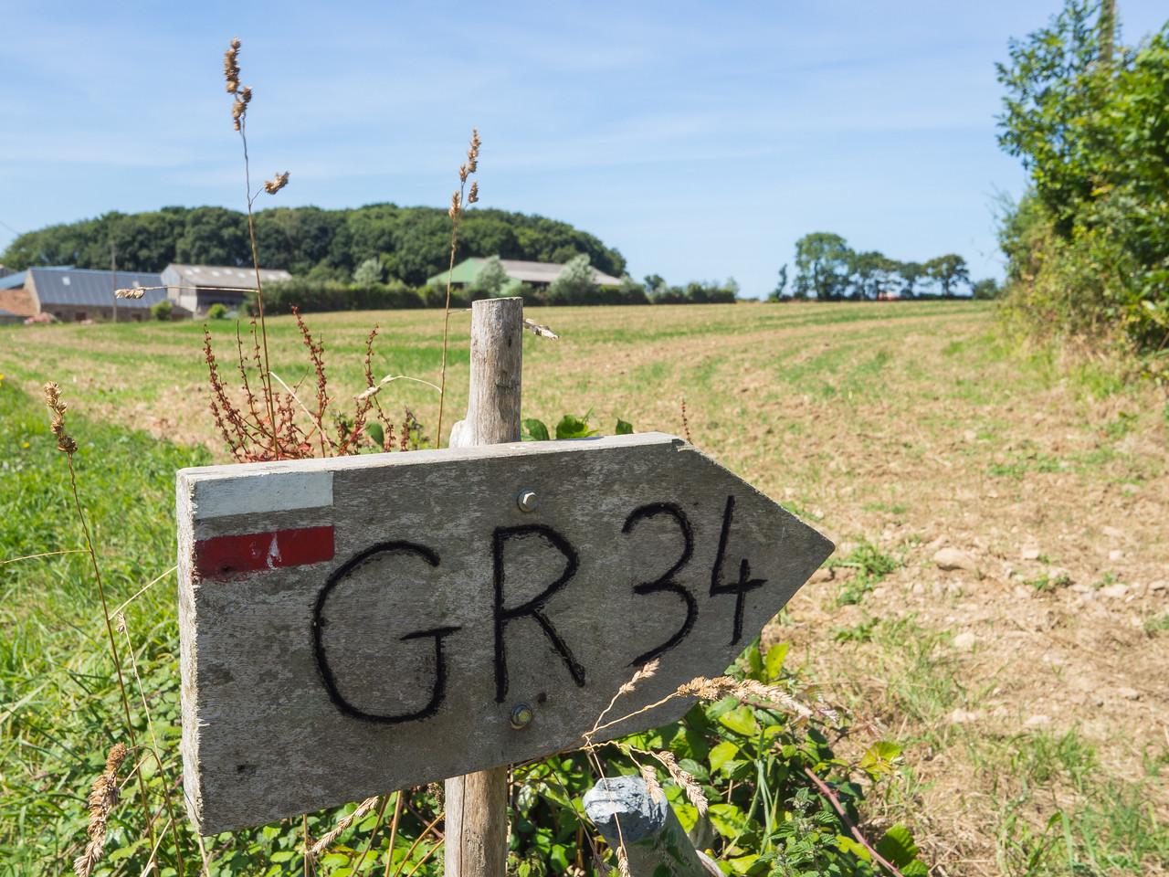 Inland from Saint-Michel-en-Grève