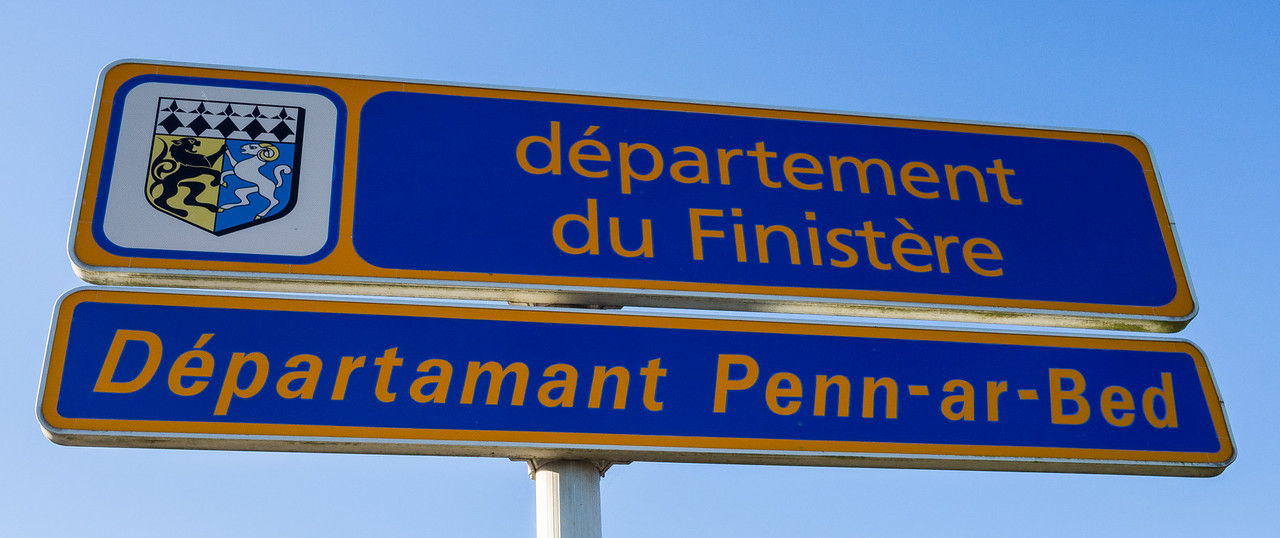 Arriving in Finistère, just south of Locquirec