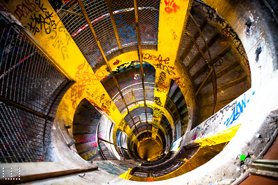 Down THE shaft