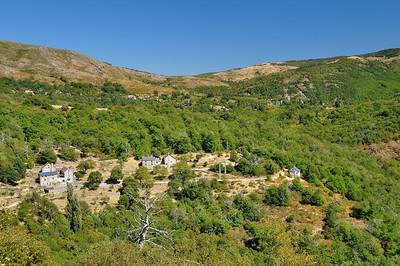 Gorges de la Dourbie - Les hameaux autour de Dourbies