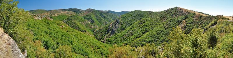 Gorges de la Dourbie - Col de la Pierre Plantée