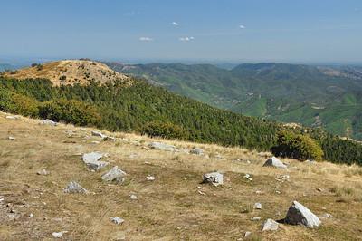 Mont Aigoual - Vue sur la haute vallée de l'Hérault