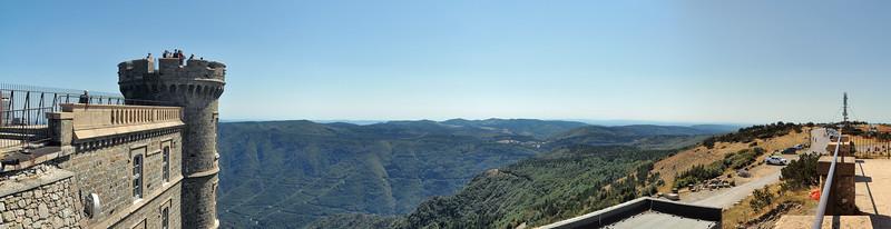 Mont Aigoual - Vers les montagnes d'Aulas et de l'Espérou