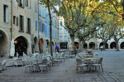 Uzès - Place aux Herbes