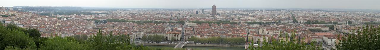 View of Lyon from Fourvière