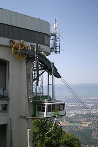 Gondola to the top of Salève