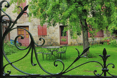 Jardin à Fourcès