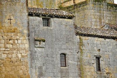 Larressingle - Extérieur forteresse