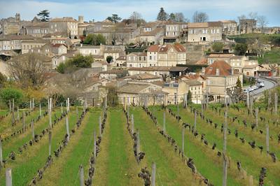 Saint-Emilion - Belvédère au sud du village