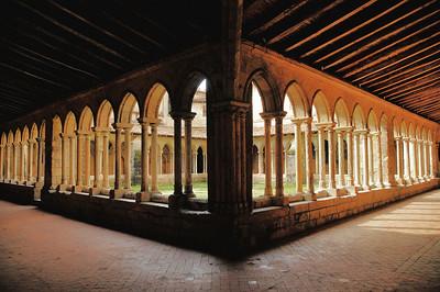 Saint-Emilion - Cloître de l'église collégiale