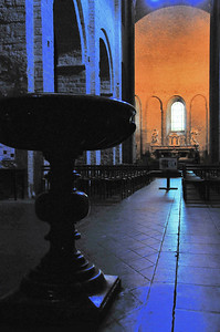 Saint-Guilhem-le-Désert - Eglise abbatiale de l'abbaye de Gellone