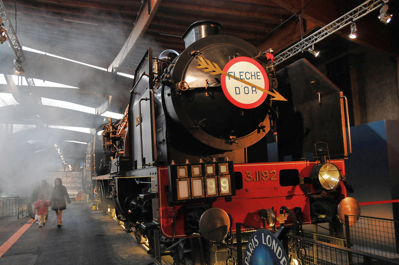 """Locomotive Pacific Chapelon Nord """"La Flèche d'or"""" - 1909"""