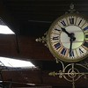 Horloge de quai de gare
