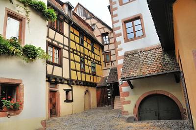 Riquewihr - Ancienne cour des Evêques de Strasbourg (1506)