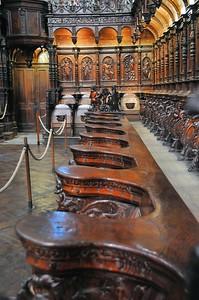 Saint-Bertrand-de-Comminges - Cathédrale Notre-Dame - Stalles du Chœur