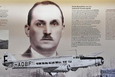 Blagnac - Aeroscopia - Emile Dewoitine, un nom célèbre