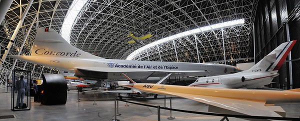 Blagnac - Aeroscopia - Concorde F-WTSB, Best off Skyranger et Falcon 10