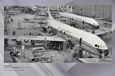 Blagnac - Aeroscopia - Chaîne d'assemblage de la Caravelle