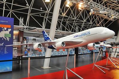 Blagnac - Aeroscopia - Airbus A380-800