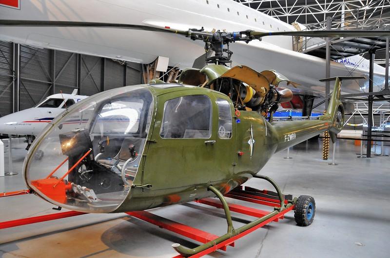 Blagnac - Aeroscopia - Hélicoptère SA 340 GAZELLE