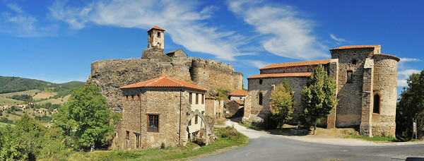 Au château de Saint-Ilpize