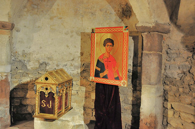 Brioude - Crypte de la basilique Saint-Julien - Reliquaire de Saint-Julien