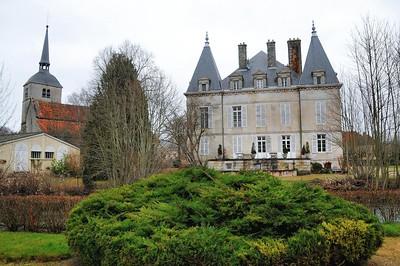 Arc-en-Barrois - Château et église Saint-Martin