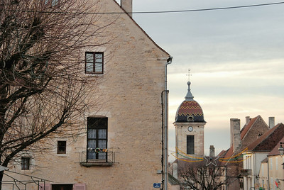 Pesmes - Angle rue des Fosses et Grande Rue