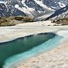 Lac Blanc - Grande Fourche, aiguilles du Chardonnet et d'Argentière, pointe Kurz