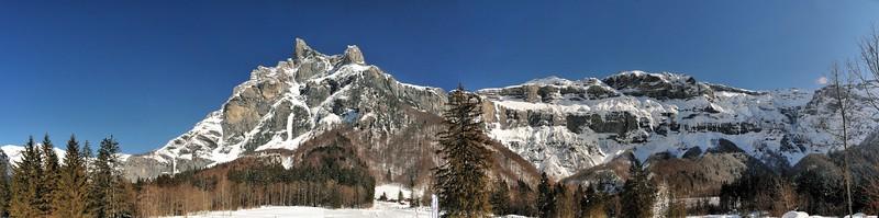 Cirque du Fer-à-Cheval - Massif du Tenneverge, pointe de la Finive, Cheval Blanc