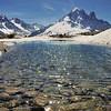 Lac Blanc - Aiguille du Chardonnet, Aiguille d'Argentière, Aiguille Verte, Les Drus
