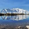 Panorama depuis le lac de Chésery supérieur