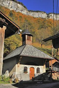 Chapelle du Molliet (commune de Sixt-Fer-à-Cheval)