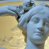 Evian - Palais Lumière - Statue allégorique de la source des Cordeliers