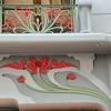 Evian - Art nouveau dans la rue Nationale
