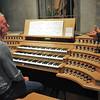 Evian - Eglise Notre-Dame de l'Assomption - Aux commandes de l'orgue
