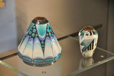 Limoges - Musée des Beaux-Arts - Emaux de Limoges, vase (Henriette Marty - vers 1930)