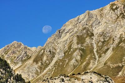 Dans la montée du col d'Izoard