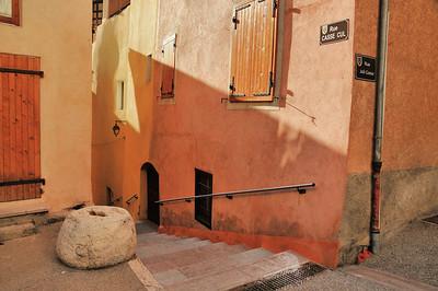 Guillestre - Rue Casse Cul et rue Joli Cœur