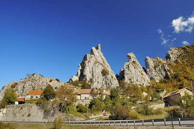 Les rochers de La Rochette