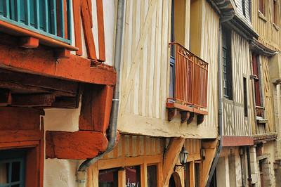 Vitré (Gwitreg) - Rue d'Embas