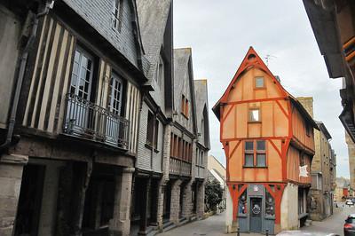 Vitré (Gwitreg) - Rue de la Poterie - Maison de l'Isle