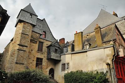 Vitré (Gwitreg) - Rue d'Embas - Ancien hôtel du Bol d'Or