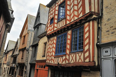Vitré (Gwitreg) - Rue de la Baudrairie