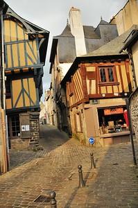 Vitré (Gwitreg) - Rue du Château