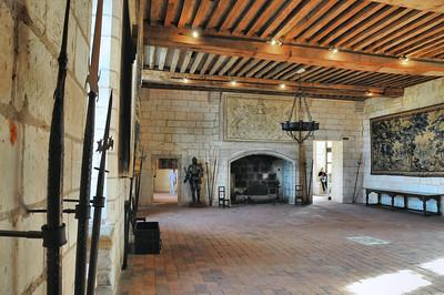 Loches - Logis royal - Salle Jeanne d'Arc